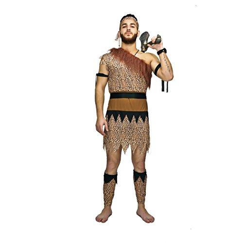 SEA HARE Disfraz de Hombre de Las Cavernas Original para Hombres Adultos