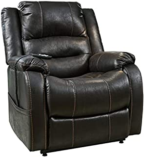 Signature Design by Ashley Yandel Power Lift Recliner Black