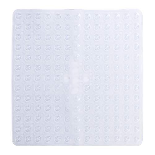 Tapis de Bain antidérapants Tapis de sécurité de Douche de Bain carrés Tapis antidérapants en PVC Anti-bactériens Anti-moisissure