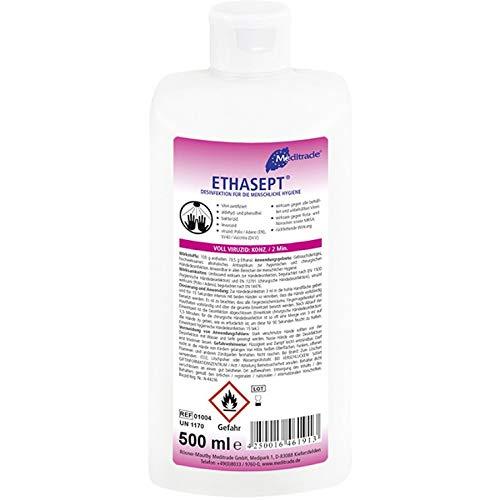 18x 500ml Hände desinfektion wirksam gegen Bakterien und Viren desinfiziert inerhalb von 15 Sekunden gute Hautverträglichkeit mit 73% Ethanol (18 x500ml Flasche)