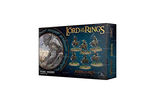 The Lord Of The Rings Warg Riders