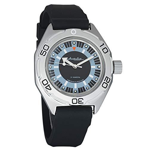 VOSTOK - Reloj de Pulsera para Hombre, mecánico, automático, 200 WR, Anfibio, Ruso