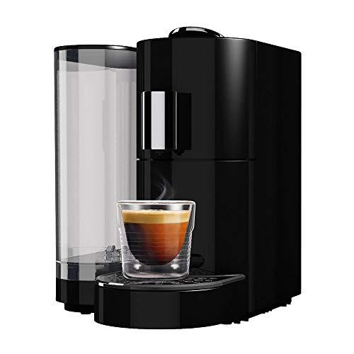 K-fee Twins II Verismo Compatible Single Serve Coffee/Espresso Machine (Black/Chrome)