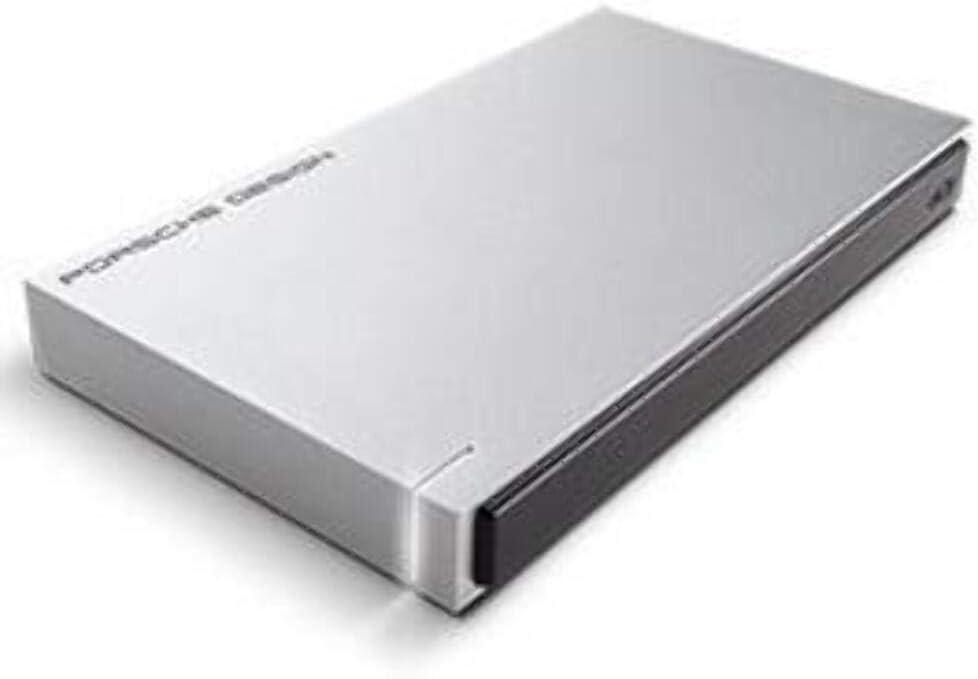 LaCie Porsche Design USB 3.0 1TB Mobile Hard Drive + 2mo Adobe CC Photography (STET1000403)