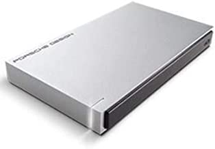 LaCie Porsche Design USB 3.0 1TB Mobile Hard Drive + 2mo Adobe CC Photography (STET1000403)