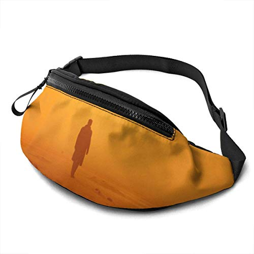 AOOEDM Blade Runner Casual Waist Bag Men Women with Adjustable with Adjustable Belt Sports Bag Running Bag Keep Fit with Exercise Jogging, Hiking Chest Pack Shoulder Bag