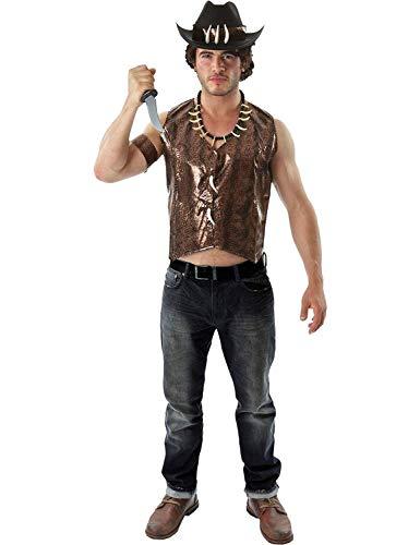 ORION COSTUMES Disfraz para Adulto Cazador de Cocodrilos
