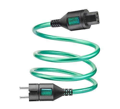 Isotek EVO3 Initium - Cable de alimentación con protección de contacto a...
