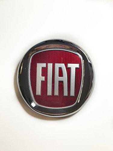 Fiat - Escudo con logo Fiat, color rojo