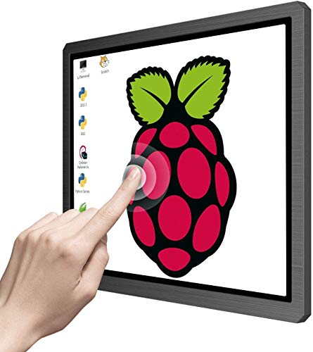 12,3 Zoll Touchscreen Portable Tragbarer Monitor Display 1600X1200 4: 3 IPS HDMI/VGA/DVI-Eingangsanzeige für Industrieausrüstungsmikroskop Raspberry Pi A B A + B + 2B 3B 3B +
