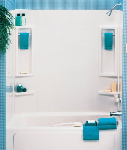 Product Image of the ASB 39240 Vantage Tub Wall, White, 5-Piece