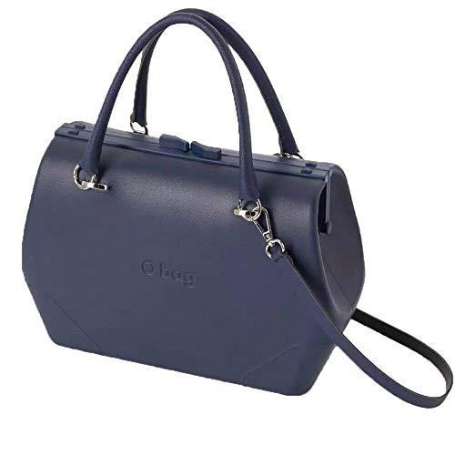 O bag doc, Borsa Donna, Blu Navy, Unica