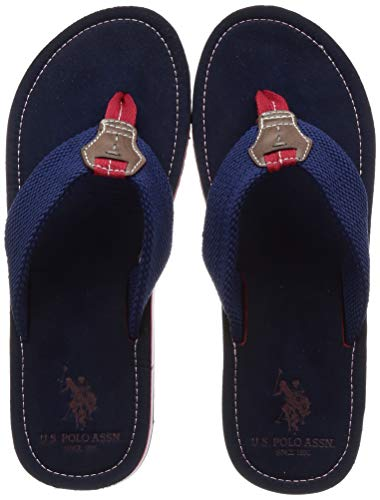 US Polo Men Weber Navy Hawaii Thong Sandals-9 UK/India (43...