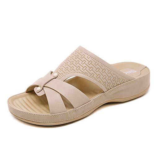 Sandali da Donna Summer Comfort Prong High Heel Bohemian @ Giallo_38