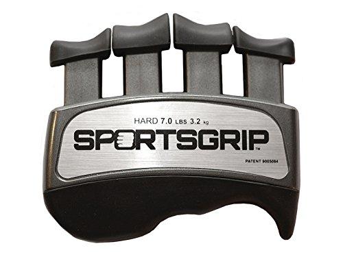 SPORTSGRIP Hand and Finger Exerciser (Hard - 7lbs / 3.2kg) - Best...