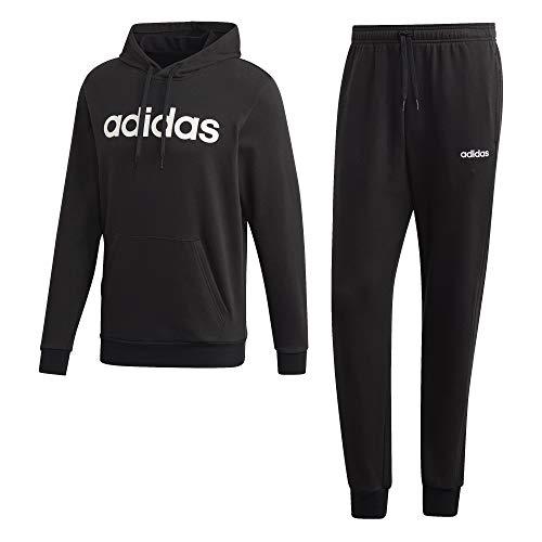 Adidas MTS CO HO Trainingspak, zwart/wit, klein