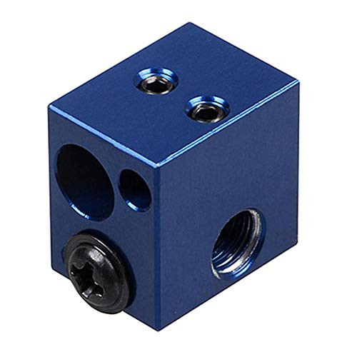 Alftek 3D-onderdelenverwarming voor J-kop extruder-verwarmingshete uiteinde, blauw