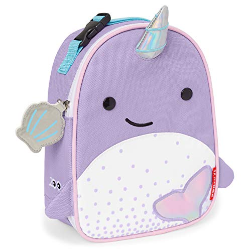 Skip Hop Kids Lunch Box, Zoo Lunchie, Narwhal