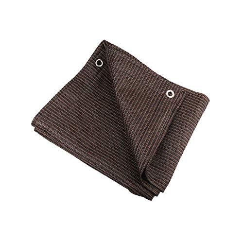 DALL pare-soleil pour Tissu D'ombre Shadecloth Sunblock Ombre Panneau Maille Premium Pour La Maison Jardin Patio Jardin Meilleur Qualité Taux D'ombrage De 95% (taille : 1 * 2m)