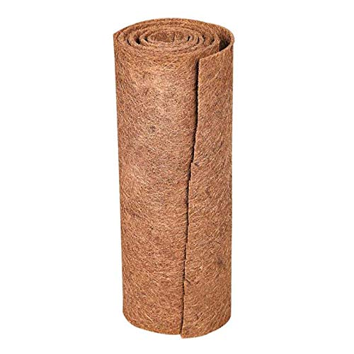 LSFYYDS Rollo de alfombra de fibra de coco de 0,5 mx 1 m/0,5 x 2 m, forro de repuesto para felpudo, cestas de palma de coco, para colgar en la pared, suministros de jardín