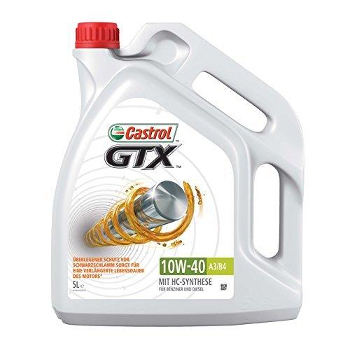 Preisvergleich Produktbild Castrol GTX 10W-40 A3 / B424 Motorenöl,  1-er Pack (1 x 5L)