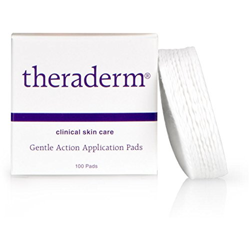 Theraderm Gentle Action Application Pads - Use with Fruit Acid Exfoliant - 100ct box