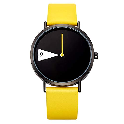 SHOUB Marca Relojes de Cuarzo Reloj de Mujer Moda Creativa de Cuero Casual Moda Whatch Ladies Promoción Relojes