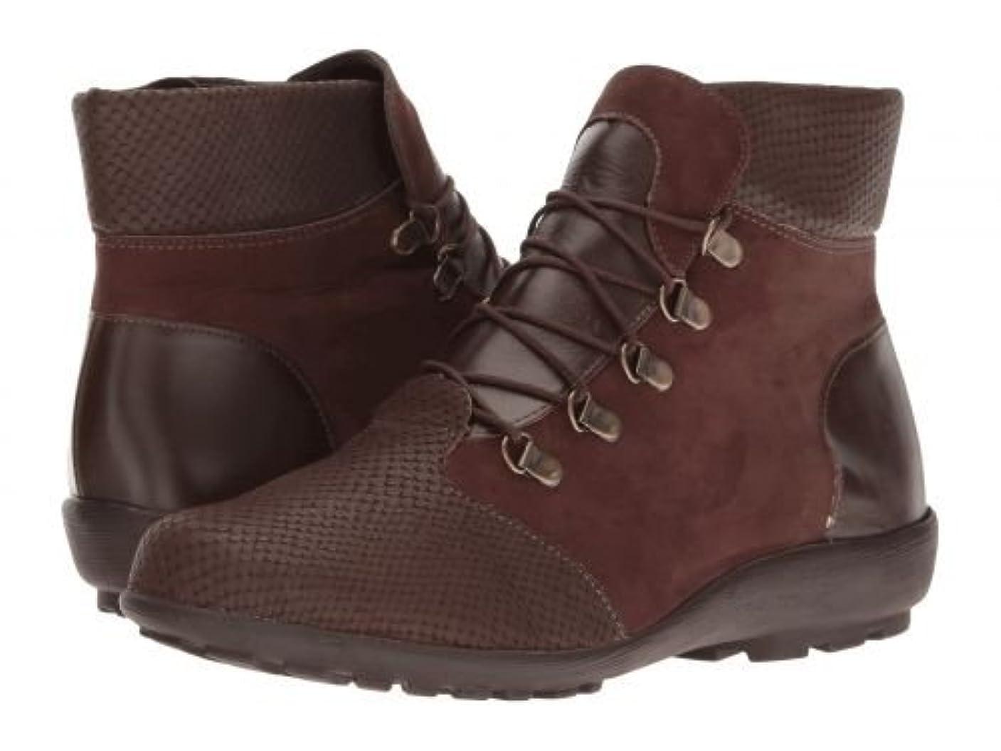 振幅作詞家懺悔Walking Cradles(ウォーキングクレイドル) レディース 女性用 シューズ 靴 ブーツ レースアップブーツ Hemingway - Brown Textured Multi [並行輸入品]