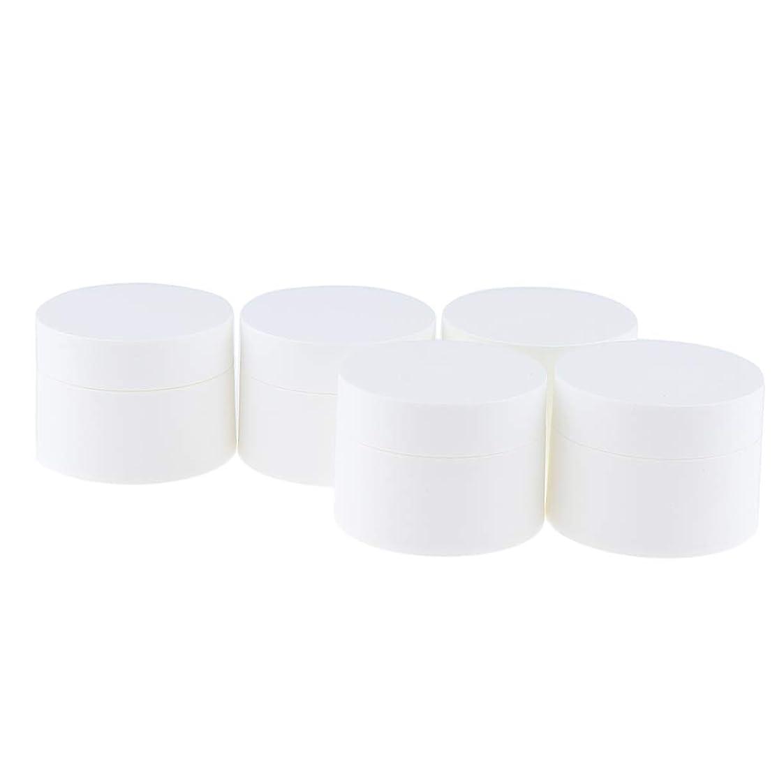 迷信焦がす火薬Perfeclan 5個 クリームケース 詰め替え容器 小分けボトル 化粧品ボトル 15g 30g 50g 全3サイズ - 30g