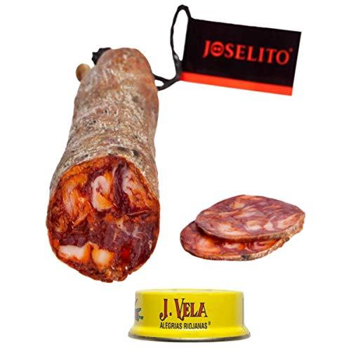 Joselito Chorizo Ibérico de Bellota - Media Barra 600 gramos