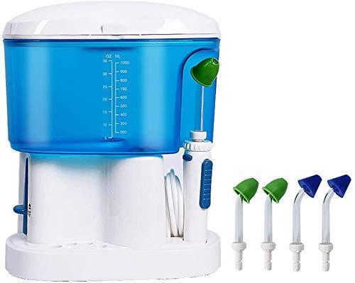 Elektrische neus douche neus was allergische Elektrische Neus wasmachine multipurpose neusholte flusher tandheelkundige schoner, Blauw, 225x12x188