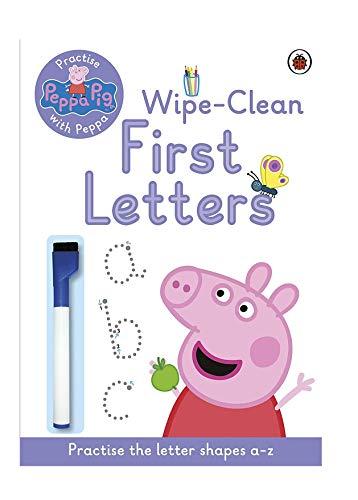 Lady Bird Peppa Pig Wipe Clean Fun First Letters...