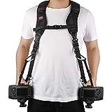 Ztowoto Camera Strap Double Shoulder Camera Strap Harness Quick Release Adjustable Dual Camera