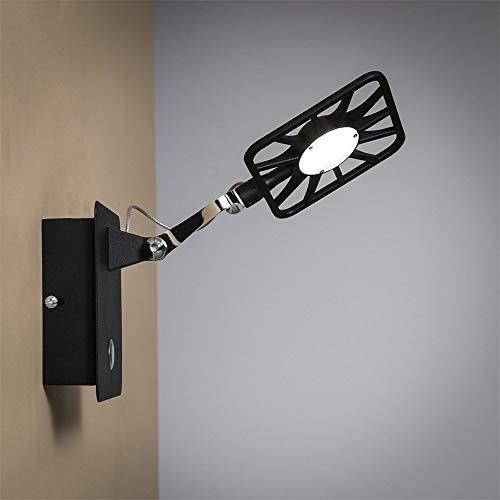 B-D Moderne wandlamp van metaal met flexibele arm LED wandlamp draaibaar creatieve wandlamp voor woonkamer woonkamer studio wandlamp