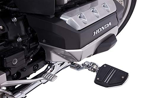 Goldstrike 3-Way Adjustable Highway Peg Mounts with Twin Rail Footrest (pair) for Gold Wing