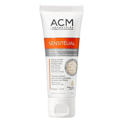 ACM Sensitélial Crème Solaire Teintée SPF 50+ Teint Claire