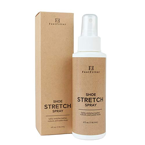 FootFitter Shoe and Boot Stretch Spray - Stretcher Solution for Leather, Suede, Nubuck, and Canvas! Made in the USA
