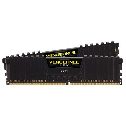 Corsair Vengeance LPX kit 16GB (2 x 8GB) di DDR4 3600MHz C20, Nero