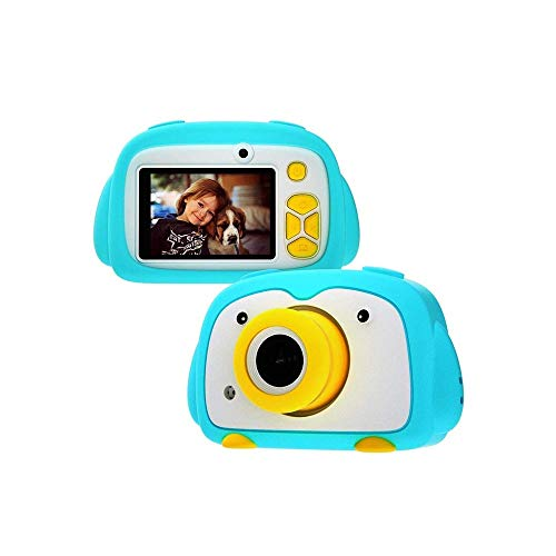 SYXX Cámara niños, regalo de los niños creativos de la cámara, los niños videocámara de la cámara digital, 1080P HD Video for videocámaras y cámaras del frente y posterior, Mini Wifi de la cámara SLR