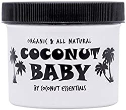Coconut Baby Oil Organic Moisturizer – Vitamin E Oil for Hair and Skin Care –..