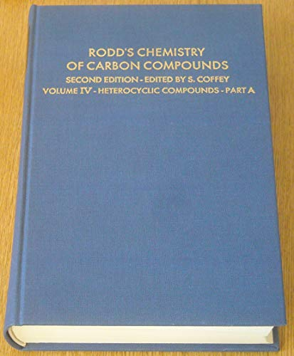 Three-, Four- And Five-membered Heterocyclic Compounds With a Single Hetero-atom in the Ring (Rodd's Chemistry of Carbon Compounds. 2nd Edition)