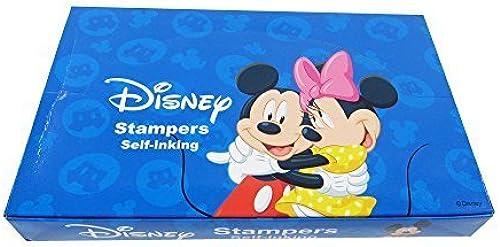 hermoso Officially Licensed 60 Piece Self Self Self Inking Stamp Set - Mickey and Friends by MIRAGE  Venta en línea precio bajo descuento