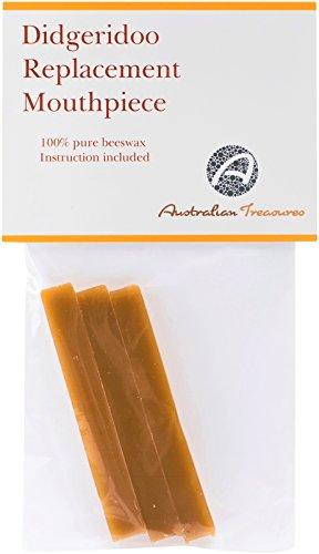 Australian Treasures - Bienenwachs für Mundstück Didgeridoo - reines Imker Bienenwachs - natürliche Farbe
