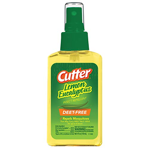 Cutter Lemon Eucalyptus Insect Repellent (Pump Spray) (HG-96014), case pack of 1