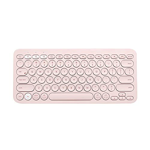 lijunjp Mini Wireless Bluetooth Keyboard, Multi-Platform Ultra-Slim Bluetooth Keyboard with Automatic Sleep Function, Compatible with Windows, Mac, iOS and Android