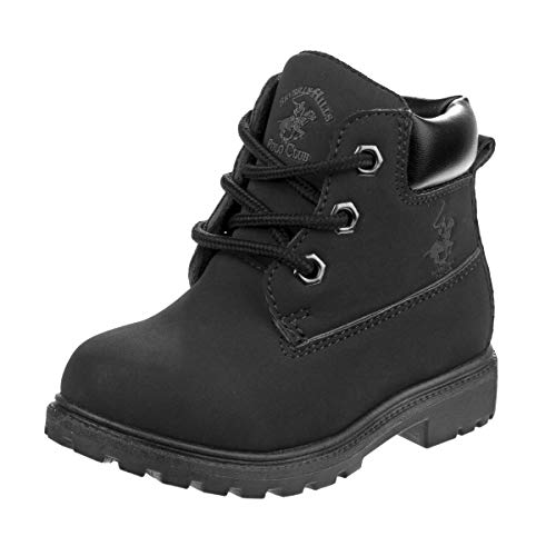 Kid Work Boots Black