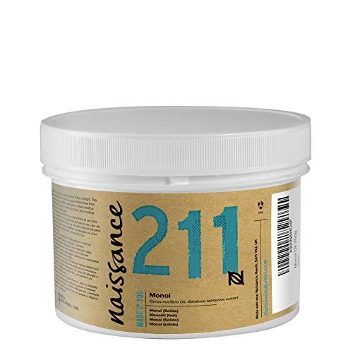 Naissance Huile de Monoï Solide (n° 211) - 250g - 100% naturel, vegan et sans OGM