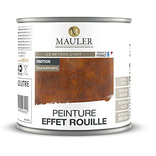 MAULER EFFEKTFARBE ROST FINISH 0,25 l