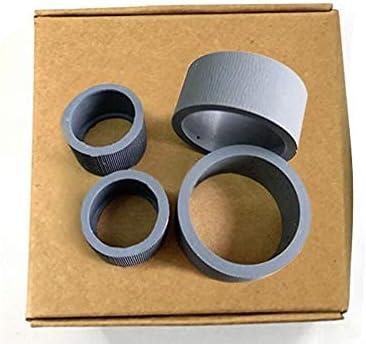 zzsbybgxfc Accessories for Printer PRTA40207 Scanner Pick Up Roller Compatible for Canon DR-C125 DR-C225 Copier Pickup Roller Tire Printer Parts 4Pcs/Set