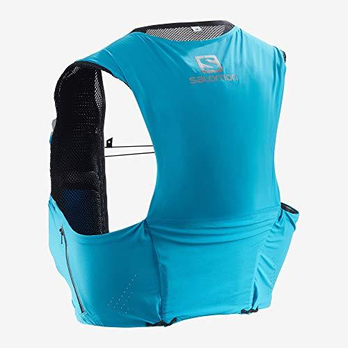 SALOMON Bag S/Lab Sense Ultra 5 Set Chaleco, Unisex Adulto, Transcend Blue, M